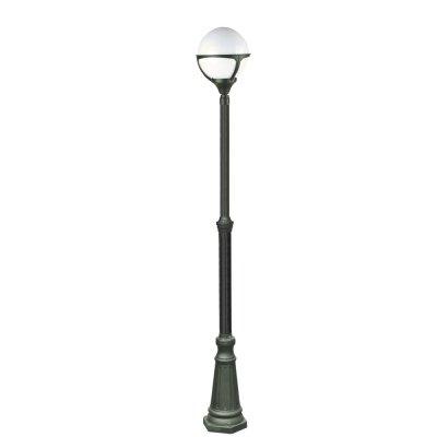 Светильник уличный Arte lamp A1497PA-1BK MonacoОдиночные столбы<br>Обеспечение качественного уличного освещения – важная задача для владельцев коттеджей. Компания «Светодом» предлагает современные светильники, которые порадуют Вас отличным исполнением. В нашем каталоге представлена продукция известных производителей, пользующихся популярностью благодаря высокому качеству выпускаемых товаров.   Уличный светильник Arte lamp A1497PA-1BK не просто обеспечит качественное освещение, но и станет украшением Вашего участка. Модель выполнена из современных материалов и имеет влагозащитный корпус, благодаря которому ей не страшны осадки.   Купить уличный светильник Arte lamp A1497PA-1BK, представленный в нашем каталоге, можно с помощью онлайн-формы для заказа. Чтобы задать имеющиеся вопросы, звоните нам по указанным телефонам.<br><br>S освещ. до, м2: 7<br>Тип лампы: накаливания / энергосбережения / LED-светодиодная<br>Тип цоколя: E27<br>Количество ламп: 1<br>Ширина, мм: 270<br>MAX мощность ламп, Вт: 100<br>Диаметр, мм мм: 270<br>Длина, мм: 270<br>Высота, мм: 2100<br>Цвет арматуры: черный