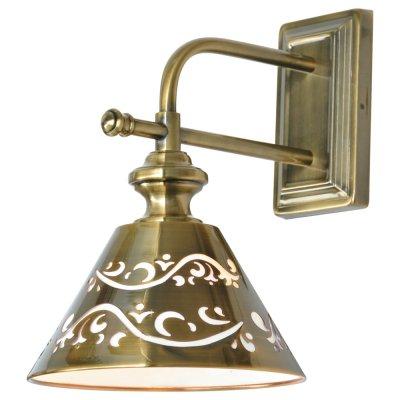 Светильник Arte lamp A1511AP-1PB KensingtonРустика<br><br><br>Тип лампы: Накаливания / энергосбережения / светодиодная<br>Тип цоколя: E14<br>Количество ламп: 1<br>Ширина, мм: 210<br>MAX мощность ламп, Вт: 40<br>Длина, мм: 290<br>Высота, мм: 310<br>Цвет арматуры: бронзовый