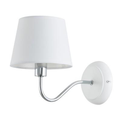 Светильник Arte Lamp A1528AP-1WHсовременные бра модерн<br>Светильник Arte Lamp A1528AP-1WH сделает Ваш интерьер современным, стильным и запоминающимся! Наиболее функционально и эстетически привлекательно модель будет смотреться в гостиной, зале, холле или другой комнате. А в комплекте с люстрой и торшером из этой же коллекции сделает интерьер по-дизайнерски профессиональным и законченным.