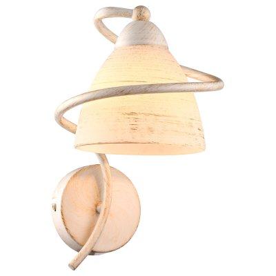 Светильник Arte lamp A1565AP-1WG FABIAСовременные<br><br><br>Тип цоколя: E14<br>Количество ламп: 1<br>Ширина, мм: 200<br>MAX мощность ламп, Вт: 40<br>Длина, мм: 170<br>Высота, мм: 240