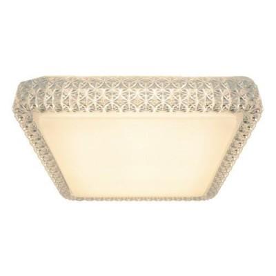 A1570PL-1CL Arte lamp СветильникПотолочные<br><br><br>Установка на натяжной потолок: Ограничено<br>S освещ. до, м2: 5<br>Цветовая t, К: 3000K<br>Тип цоколя: LED<br>Цвет арматуры: прозрачный, белый<br>Количество ламп: 1<br>Диаметр, мм мм: 280<br>Размеры: 28cm<br>Длина, мм: 280<br>Высота, мм: 85<br>MAX мощность ламп, Вт: 12W<br>Общая мощность, Вт: 12W