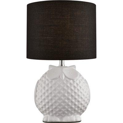 Настольная декорированная лампа Arte lamp A1582LT-1BK GambaСовременные<br>Настольная лампа – это не просто источник дополнительного освещения, но и оригинальный элемент декора. Его можно установить в спальне, гостиной, кабинете и других комнатах. Интернет-магазин «Светодом» предлагает настольные лампы разных стилей по доступным ценам. Благодаря большому ассортименту Вы обязательно найдете в нашем каталоге именно ту модель, которую искали.   Настольная лампа Arte lamp A1582LT-1BK – прекрасный вариант для завершения интерьера. Ее можно включить одновременно с люстрой для более яркого освещения или без нее для создания уютной атмосферы, настраивающей на отдых.   Купить настольную лампу Arte lamp A1582LT-1BK Вы можете с помощью виртуальной «Корзины» или по контактным номерам, указанным на сайте.<br><br>S освещ. до, м2: 2<br>Тип лампы: накаливания / энергосбережения / LED-светодиодная<br>Тип цоколя: E14<br>Цвет арматуры: черный<br>Количество ламп: 1<br>Диаметр, мм мм: 180<br>Высота, мм: 310<br>Оттенок (цвет): черный<br>MAX мощность ламп, Вт: 40
