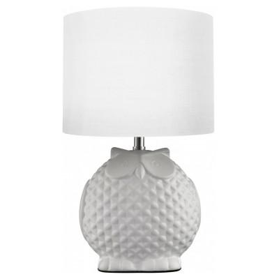 Настольная лампа Arte lamp A1582LT-1WH GambaСовременные настольные лампы модерн<br>Настольная лампа – это не просто источник дополнительного освещения, но и оригинальный элемент декора. Его можно установить в спальне, гостиной, кабинете и других комнатах. Интернет-магазин «Светодом» предлагает настольные лампы разных стилей по доступным ценам. Благодаря большому ассортименту Вы обязательно найдете в нашем каталоге именно ту модель, которую искали.   Настольная лампа Arte lamp A1582LT-1WH – прекрасный вариант для завершения интерьера. Ее можно включить одновременно с люстрой для более яркого освещения или без нее для создания уютной атмосферы, настраивающей на отдых.   Купить настольную лампу Arte lamp A1582LT-1WH Вы можете с помощью виртуальной «Корзины» или по контактным номерам, указанным на сайте.<br><br>S освещ. до, м2: 2<br>Тип лампы: накаливания / энергосбережения / LED-светодиодная<br>Тип цоколя: E14<br>Цвет арматуры: белый<br>Количество ламп: 1<br>Диаметр, мм мм: 180<br>Высота, мм: 310<br>Оттенок (цвет): белый<br>MAX мощность ламп, Вт: 40