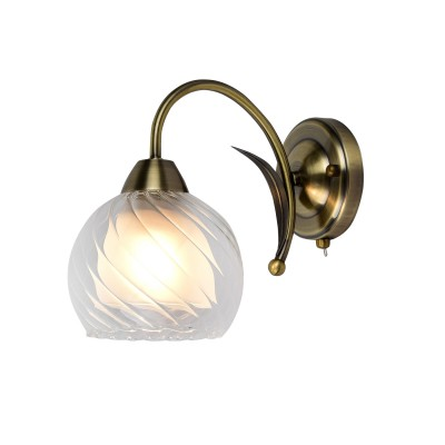 A1607AP-1AB Arte Lamp светильникКлассические<br><br><br>Тип лампы: Накаливания / энергосбережения / светодиодная<br>Тип цоколя: E27<br>Количество ламп: 1<br>Диаметр, мм мм: 150<br>Длина, мм: 260<br>Высота, мм: 210<br>MAX мощность ламп, Вт: 60W