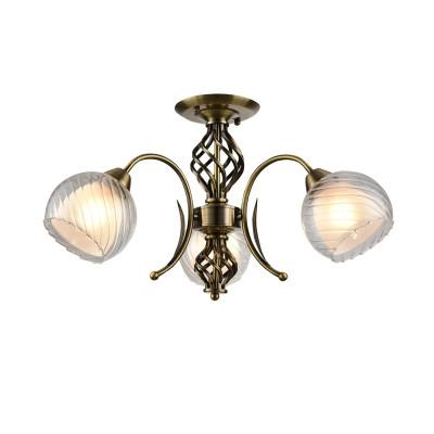 A1607PL-3AB Arte Lamp светильникПотолочные<br><br><br>S освещ. до, м2: 9<br>Тип лампы: Накаливания / энергосбережения / светодиодная<br>Тип цоколя: E27<br>Цвет арматуры: античный бронзовый<br>Количество ламп: 3<br>Диаметр, мм мм: 610<br>Длина, мм: 610<br>Высота, мм: 260<br>MAX мощность ламп, Вт: 60W