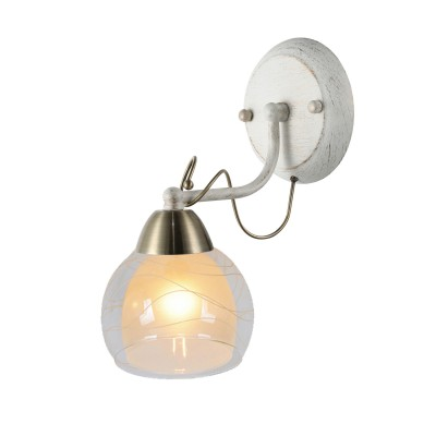 A1633AP-1WG Arte lamp СветильникСовременные<br><br><br>Тип цоколя: E14<br>Цвет арматуры: белый-ЗОЛОТОЙ<br>Количество ламп: 1<br>Диаметр, мм мм: 150<br>Размеры: L21*W14*H28CM<br>Длина, мм: 210<br>Высота, мм: 280<br>MAX мощность ламп, Вт: 60W<br>Общая мощность, Вт: 60W