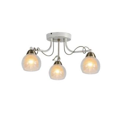 A1633PL-3WG Arte lamp СветильникПотолочные<br><br><br>Тип цоколя: E14<br>Количество ламп: 3<br>MAX мощность ламп, Вт: 60W<br>Диаметр, мм мм: 530<br>Размеры: L56*W56*H26CM<br>Длина, мм: 530<br>Высота, мм: 260<br>Цвет арматуры: белый-ЗОЛОТОЙ<br>Общая мощность, Вт: 60W