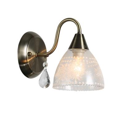 A1658AP-1AB Arte lamp СветильникКлассические<br><br><br>Тип цоколя: E14<br>Цвет арматуры: античный бронзовый<br>Количество ламп: 1<br>Диаметр, мм мм: 150<br>Размеры: L23*W12*H19CM<br>Длина, мм: 190<br>Высота, мм: 170<br>MAX мощность ламп, Вт: 60W<br>Общая мощность, Вт: 60W