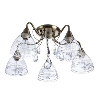 Светильник потолочный Arte lamp A1658PL-5AB Rugiada фото