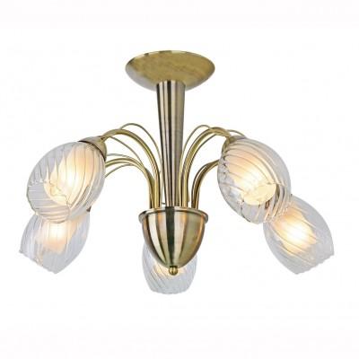 Светильник потолочный Arte lamp A1673PL-5AB TEMPESTAПотолочные<br><br><br>Установка на натяжной потолок: Да<br>S освещ. до, м2: 15<br>Крепление: Планка<br>Тип лампы: Накаливания / энергосбережения / светодиодная<br>Тип цоколя: E14<br>Цвет арматуры: бронзовый<br>Количество ламп: 5<br>Диаметр, мм мм: 550<br>Размеры: H38xW55xL55<br>Высота, мм: 380<br>MAX мощность ламп, Вт: 60