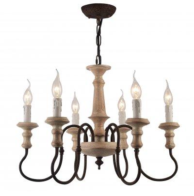 Светильник Arte Lamp A1700LM-6BRподвесные люстры лофт<br>Светильник Arte Lamp A1700LM-6BR сразу же привлечет внимание благодаря своему необычному лофтовому дизайну и брутальному исполнению. Модель выполнена из качественных материалов, что обеспечивает ее надежную и долговечную работу. Такой вариант светильника можно использовать для интерьера не только гостиной, но и спальни или кабинета.