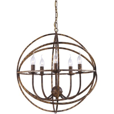 Подвесная люстра Arte lamp A1703SP-5BR KopernikПодвесные<br>Компания «Светодом» предлагает широкий ассортимент люстр от известных производителей. Представленные в нашем каталоге товары выполнены из современных материалов и обладают отличным качеством. Благодаря широкому ассортименту Вы сможете найти у нас люстру под любой интерьер. Мы предлагаем как классические варианты, так и современные модели, отличающиеся лаконичностью и простотой форм. <br>Стильная люстра Arte lamp A1703SP-5BR станет украшением любого дома. Эта модель от известного производителя не оставит равнодушным ценителей красивых и оригинальных предметов интерьера. Люстра Arte lamp A1703SP-5BR обеспечит равномерное распределение света по всей комнате. При выборе обратите внимание на характеристики, позволяющие приобрести наиболее подходящую модель. <br>Купить понравившуюся люстру по доступной цене Вы можете в интернет-магазине «Светодом».<br><br>Установка на натяжной потолок: Да<br>S освещ. до, м2: 10<br>Крепление: Планка<br>Тип лампы: накаливания / энергосбережения / LED-светодиодная<br>Тип цоколя: E14<br>Количество ламп: 5<br>MAX мощность ламп, Вт: 40<br>Диаметр, мм мм: 560<br>Длина цепи/провода, мм: 700<br>Высота, мм: 600<br>Оттенок (цвет): коричневый<br>Цвет арматуры: коричневый