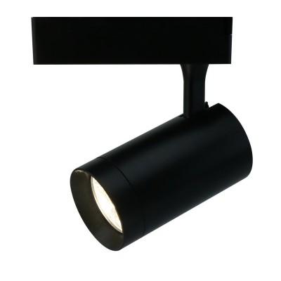 A1720PL-1BK Arte lamp СветильникСветильники для трека<br><br><br>Цветовая t, К: 4000K<br>Тип цоколя: LED<br>Количество ламп: 1<br>MAX мощность ламп, Вт: 20W<br>Диаметр, мм мм: 110<br>Размеры: ?74*H198<br>Длина, мм: 80<br>Высота, мм: 200<br>Цвет арматуры: ЧЕРНЫЙ<br>Общая мощность, Вт: 20W