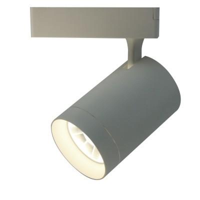 A1730PL-1WH Arte lamp СветильникСветильники для трека<br><br><br>Цветовая t, К: 4000K<br>Тип цоколя: LED<br>Количество ламп: 1<br>MAX мощность ламп, Вт: 30W<br>Диаметр, мм мм: 120<br>Размеры: ?94*H219<br>Длина, мм: 100<br>Высота, мм: 220<br>Цвет арматуры: БЕЛЫЙ<br>Общая мощность, Вт: 30W