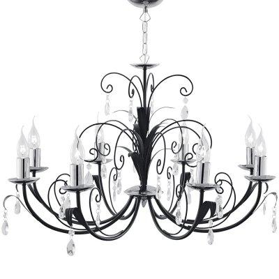 Люстра Arte Lamp A1742LM-8BK RomanaПодвесные<br>Компания «Светодом» предлагает широкий ассортимент люстр от известных производителей. Представленные в нашем каталоге товары выполнены из современных материалов и обладают отличным качеством. Благодаря широкому ассортименту Вы сможете найти у нас люстру под любой интерьер. Мы предлагаем как классические варианты, так и современные модели, отличающиеся лаконичностью и простотой форм. <br>Стильная люстра Arte lamp A1742LM-8BK станет украшением любого дома. Эта модель от известного производителя не оставит равнодушным ценителей красивых и оригинальных предметов интерьера. Люстра Arte lamp A1742LM-8BK обеспечит равномерное распределение света по всей комнате. При выборе обратите внимание на характеристики, позволяющие приобрести наиболее подходящую модель. <br>Купить понравившуюся люстру по доступной цене Вы можете в интернет-магазине «Светодом».<br><br>Установка на натяжной потолок: Да<br>S освещ. до, м2: 22<br>Крепление: Крюк<br>Тип лампы: накаливания / энергосбережения / LED-светодиодная<br>Тип цоколя: E14<br>Количество ламп: 8<br>Ширина, мм: 780<br>MAX мощность ламп, Вт: 40<br>Диаметр, мм мм: 780<br>Длина цепи/провода, мм: 550<br>Высота, мм: 440<br>Цвет арматуры: черный