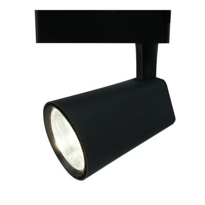 A1830PL-1BK Arte lamp СветильникСветильники для трека<br><br><br>Цветовая t, К: 4000K<br>Тип цоколя: LED<br>Цвет арматуры: ЧЕРНЫЙ<br>Количество ламп: 1<br>Диаметр, мм мм: 130<br>Размеры: ?110*155<br>Длина, мм: 110<br>Высота, мм: 160<br>MAX мощность ламп, Вт: 30W<br>Общая мощность, Вт: 30W