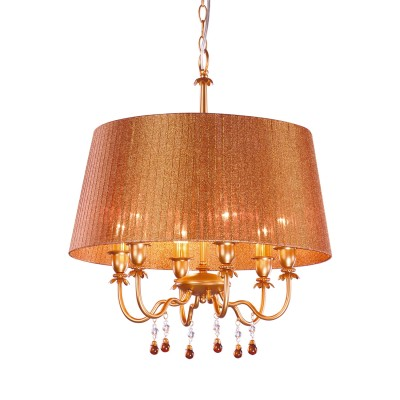Люстра Arte Lamp A2008SP-6BZ AllegroПодвесные<br><br><br>S освещ. до, м2: 16<br>Тип товара: Люстра подвесная<br>Скидка, %: 45<br>Тип лампы: накаливания / энергосбережения / LED-светодиодная<br>Тип цоколя: E14<br>Количество ламп: 6<br>Ширина, мм: 510<br>MAX мощность ламп, Вт: 40<br>Диаметр, мм мм: 510<br>Длина цепи/провода, мм: 550<br>Высота, мм: 560<br>Цвет арматуры: бронза