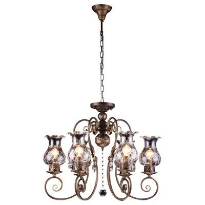 Светильник Arte lamp A2053LM-6BR PalermoПодвесные<br>Компания «Светодом» предлагает широкий ассортимент люстр от известных производителей. Представленные в нашем каталоге товары выполнены из современных материалов и обладают отличным качеством. Благодаря широкому ассортименту Вы сможете найти у нас люстру под любой интерьер. Мы предлагаем как классические варианты, так и современные модели, отличающиеся лаконичностью и простотой форм.  Стильная люстра Arte lamp A2053LM-6BR станет украшением любого дома. Эта модель от известного производителя не оставит равнодушным ценителей красивых и оригинальных предметов интерьера. Люстра Arte lamp A2053LM-6BR обеспечит равномерное распределение света по всей комнате. При выборе обратите внимание на характеристики, позволяющие приобрести наиболее подходящую модель. Купить понравившуюся люстру по доступной цене Вы можете в интернет-магазине «Светодом».<br><br>Установка на натяжной потолок: Да<br>S освещ. до, м2: 18<br>Крепление: Крюк<br>Тип лампы: накал-я - энергосбер-я<br>Тип цоколя: E14<br>Количество ламп: 6<br>MAX мощность ламп, Вт: 60<br>Диаметр, мм мм: 620<br>Высота, мм: 550<br>Цвет арматуры: бронзовый