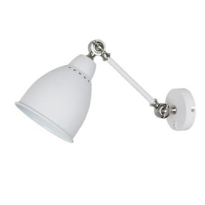 A2054AP-1WH Arte lamp СветильникЛофт<br><br><br>Тип цоколя: E27<br>Цвет арматуры: БЕЛЫЙ<br>Количество ламп: 1<br>Диаметр, мм мм: 150<br>Размеры: 385*143*225<br>Длина, мм: 400<br>Высота, мм: 230<br>MAX мощность ламп, Вт: 60W<br>Общая мощность, Вт: 60W