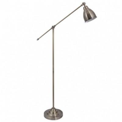 Торшер Arte lamp A2054PN-1AB BRACCIOМеталлические<br>Торшер – это не просто функциональный предмет интерьера, позволяющий обеспечить дополнительное освещение, но и оригинальный декоративный элемент. Интернет-магазин «Светодом» предлагает стильные модели от известных производителей по доступным ценам. У нас Вы найдете и классические напольные светильники, и современные варианты.   Торшер A2054PN-1AB ARTELamp сразу же привлекает внимание благодаря своему необычному дизайну. Модель выполнена из качественных материалов, что обеспечит ее надежную и долговечную работу. Такой напольный светильник можно использовать для интерьера не только гостиной, но и спальни или кабинета.   Купить торшер A2054PN-1AB ARTELamp по выгодной стоимости Вы можете с помощью нашего сайта. У нас склады в Москве, Екатеринбурге, Санкт-Петербурге, Новосибирске и другим городам России.<br><br>Тип цоколя: E27<br>Цвет арматуры: бронзовый<br>Количество ламп: 1<br>Размеры: H150xW25xL90<br>MAX мощность ламп, Вт: 60