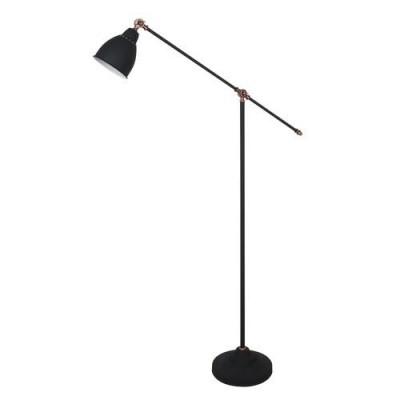 A2054PN-1BK Arte lamp СветильникКлассические<br><br><br>Тип цоколя: E27<br>Количество ламп: 1<br>MAX мощность ламп, Вт: 60W<br>Диаметр, мм мм: 250<br>Размеры: 900*250*1500<br>Длина, мм: 900<br>Высота, мм: 1500<br>Цвет арматуры: ЧЕРНЫЙ<br>Общая мощность, Вт: 60W