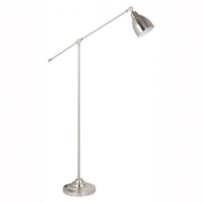 Торшер Arte lamp A2054PN-1SS BRACCIOХай-тек<br>Торшер – это не просто функциональный предмет интерьера, позволяющий обеспечить дополнительное освещение, но и оригинальный декоративный элемент. Интернет-магазин «Светодом» предлагает стильные модели от известных производителей по доступным ценам. У нас Вы найдете и классические напольные светильники, и современные варианты. <br> Торшер A2054PN-1SS ARTELamp сразу же привлекает внимание благодаря своему необычному дизайну. Модель выполнена из качественных материалов, что обеспечит ее надежную и долговечную работу. Такой напольный светильник можно использовать для интерьера не только гостиной, но и спальни или кабинета. <br> Купить торшер A2054PN-1SS ARTELamp по выгодной стоимости Вы можете с помощью нашего сайта. У нас склады в Москве, Екатеринбурге, Санкт-Петербурге, Новосибирске и другим городам России.<br><br>Тип лампы: Накаливания / энергосбережения / светодиодная<br>Тип цоколя: E27<br>Цвет арматуры: серебристый<br>Количество ламп: 1<br>Размеры: H150xW25xL90<br>MAX мощность ламп, Вт: 60
