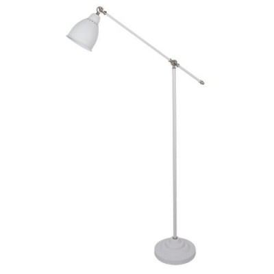 A2054PN-1WH Arte lamp СветильникКлассические<br><br><br>Тип цоколя: E27<br>Количество ламп: 1<br>MAX мощность ламп, Вт: 60W<br>Диаметр, мм мм: 250<br>Размеры: 900*250*1500<br>Длина, мм: 900<br>Высота, мм: 1500<br>Цвет арматуры: БЕЛЫЙ<br>Общая мощность, Вт: 60W