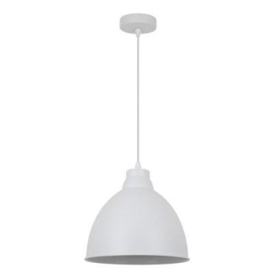 A2055SP-1WH Arte lamp СветильникОдиночные<br><br><br>Крепление: Планка<br>Тип цоколя: E27<br>Количество ламп: 1<br>MAX мощность ламп, Вт: 60W<br>Диаметр, мм мм: 260<br>Длина цепи/провода, мм: 1000<br>Размеры: ?260*H1260<br>Длина, мм: 260<br>Высота, мм: 230<br>Цвет арматуры: БЕЛЫЙ<br>Общая мощность, Вт: 60W