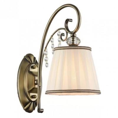 Светильник настенный бра Arte lamp A2079AP-1AB FABBROКлассические<br><br><br>Тип лампы: Накаливания / энергосбережения / светодиодная<br>Тип цоколя: E14<br>Количество ламп: 1<br>MAX мощность ламп, Вт: 60<br>Размеры: H30xW28xL15<br>Цвет арматуры: бронзовый