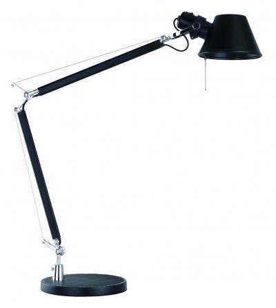 Светильник настольный Arte lamp A2098LT-1BK AIRONEОфисные<br>Настольная лампа – это не просто источник дополнительного освещения, но и оригинальный элемент декора. Его можно установить в спальне, гостиной, кабинете и других комнатах. Интернет-магазин «Светодом» предлагает настольные лампы разных стилей по доступным ценам. Благодаря большому ассортименту Вы обязательно найдете в нашем каталоге именно ту модель, которую искали.   Настольная лампа Arte lamp A2098LT-1BK – прекрасный вариант для завершения интерьера. Ее можно включить одновременно с люстрой для более яркого освещения или без нее для создания уютной атмосферы, настраивающей на отдых.   Купить настольную лампу Arte lamp A2098LT-1BK Вы можете с помощью виртуальной «Корзины» или по контактным номерам, указанным на сайте.<br><br>Тип лампы: Накаливания / энергосбережения / светодиодная<br>Тип цоколя: E27<br>Цвет арматуры: черный<br>Количество ламп: 1<br>Размеры: H70xW21xL52<br>MAX мощность ламп, Вт: 60