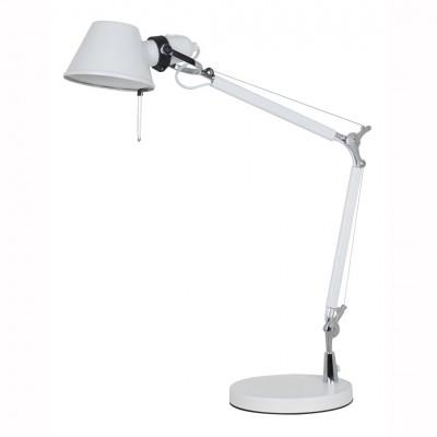 Светильник настольный Arte lamp A2098LT-1WH AIRONEОфисные<br>Настольная лампа – это не просто источник дополнительного освещения, но и оригинальный элемент декора. Его можно установить в спальне, гостиной, кабинете и других комнатах. Интернет-магазин «Светодом» предлагает настольные лампы разных стилей по доступным ценам. Благодаря большому ассортименту Вы обязательно найдете в нашем каталоге именно ту модель, которую искали.   Настольная лампа Arte lamp A2098LT-1WH – прекрасный вариант для завершения интерьера. Ее можно включить одновременно с люстрой для более яркого освещения или без нее для создания уютной атмосферы, настраивающей на отдых.   Купить настольную лампу Arte lamp A2098LT-1WH Вы можете с помощью виртуальной «Корзины» или по контактным номерам, указанным на сайте.<br><br>Тип лампы: Накаливания / энергосбережения / светодиодная<br>Тип цоколя: E27<br>Цвет арматуры: белый<br>Количество ламп: 1<br>Размеры: H70xW21xL52<br>MAX мощность ламп, Вт: 60