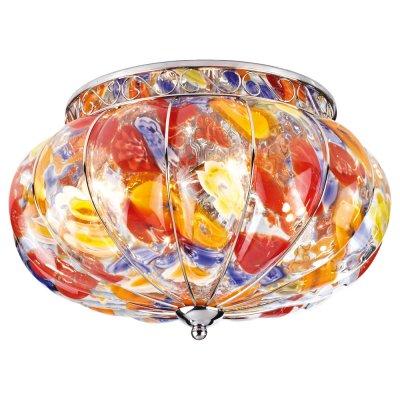 Люстра цветная Arte lamp A2101PL-4CC VeneziaПотолочные<br>Компания «Светодом» предлагает широкий ассортимент люстр от известных производителей. Представленные в нашем каталоге товары выполнены из современных материалов и обладают отличным качеством. Благодаря широкому ассортименту Вы сможете найти у нас люстру под любой интерьер. Мы предлагаем как классические варианты, так и современные модели, отличающиеся лаконичностью и простотой форм. <br>Стильная люстра Arte lamp A2101PL-4CC станет украшением любого дома. Эта модель от известного производителя не оставит равнодушным ценителей красивых и оригинальных предметов интерьера. Люстра Arte lamp A2101PL-4CC обеспечит равномерное распределение света по всей комнате. При выборе обратите внимание на характеристики, позволяющие приобрести наиболее подходящую модель. <br>Купить понравившуюся люстру по доступной цене Вы можете в интернет-магазине «Светодом». Мы предлагаем доставку не только по Москве и Екатеринбурге, но и по всей России.<br><br>Установка на натяжной потолок: Ограничено<br>S освещ. до, м2: 16<br>Крепление: Планка<br>Тип лампы: накаливания / энергосбережения / LED-светодиодная<br>Тип цоколя: E14<br>Количество ламп: 4<br>Ширина, мм: 360<br>MAX мощность ламп, Вт: 60<br>Диаметр, мм мм: 360<br>Высота, мм: 230