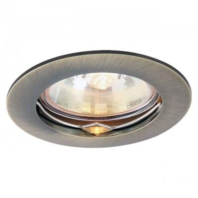 Светильник потолочный Arte lamp A2103PL-1AB BASICКруглые встраиваемые светильники<br>Встраиваемые светильники – популярное осветительное оборудование, которое можно использовать в качестве основного источника или в дополнение к люстре. Они позволяют создать нужную атмосферу атмосферу и привнести в интерьер уют и комфорт. <br> Интернет-магазин «Светодом» предлагает стильный встраиваемый светильник ARTE Lamp A2103PL-1AB. Данная модель достаточно универсальна, поэтому подойдет практически под любой интерьер. Перед покупкой не забудьте ознакомиться с техническими параметрами, чтобы узнать тип цоколя, площадь освещения и другие важные характеристики. <br> Приобрести встраиваемый светильник ARTE Lamp A2103PL-1AB в нашем онлайн-магазине Вы можете либо с помощью «Корзины», либо по контактным номерам. Мы развозим заказы по Москве, Екатеринбургу и остальным российским городам.<br><br>Тип цоколя: GU10<br>Цвет арматуры: бронзовый<br>Количество ламп: 1<br>Размеры: H3,2xW8,2xL8,2<br>MAX мощность ламп, Вт: 50