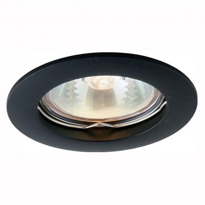 Светильник потолочный Arte lamp A2103PL-1BK BASICКруглые<br>Встраиваемые светильники – популярное осветительное оборудование, которое можно использовать в качестве основного источника или в дополнение к люстре. Они позволяют создать нужную атмосферу атмосферу и привнести в интерьер уют и комфорт.   Интернет-магазин «Светодом» предлагает стильный встраиваемый светильник ARTE Lamp A2103PL-1BK. Данная модель достаточно универсальна, поэтому подойдет практически под любой интерьер. Перед покупкой не забудьте ознакомиться с техническими параметрами, чтобы узнать тип цоколя, площадь освещения и другие важные характеристики.   Приобрести встраиваемый светильник ARTE Lamp A2103PL-1BK в нашем онлайн-магазине Вы можете либо с помощью «Корзины», либо по контактным номерам. Мы развозим заказы по Москве, Екатеринбургу и остальным российским городам.<br><br>Тип цоколя: GU10<br>MAX мощность ламп, Вт: 50<br>Размеры: H2,1xW7,6xL7,6<br>Цвет арматуры: черный