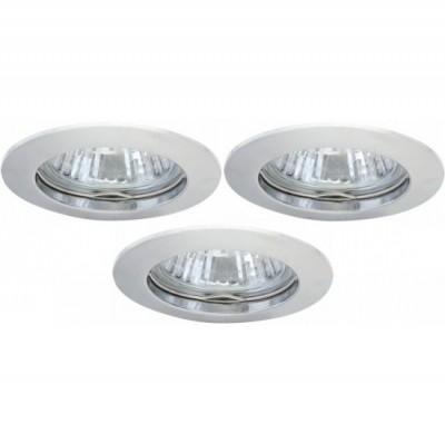 Светильник встраиваемый Arte lamp A2103PL-3CC Basic (3шт)Круглые<br>Встраиваемые светильники – популярное осветительное оборудование, которое можно использовать в качестве основного источника или в дополнение к люстре. Они позволяют создать нужную атмосферу атмосферу и привнести в интерьер уют и комфорт.   Интернет-магазин «Светодом» предлагает стильный встраиваемый светильник ARTE Lamp A2103PL-3CC. Данная модель достаточно универсальна, поэтому подойдет практически под любой интерьер. Перед покупкой не забудьте ознакомиться с техническими параметрами, чтобы узнать тип цоколя, площадь освещения и другие важные характеристики.   Приобрести встраиваемый светильник ARTE Lamp A2103PL-3CC в нашем онлайн-магазине Вы можете либо с помощью «Корзины», либо по контактным номерам. Мы развозим заказы по Москве, Екатеринбургу и остальным российским городам.<br><br>S освещ. до, м2: 10<br>Тип лампы: галогенная<br>Тип цоколя: GU10<br>Цвет арматуры: серебристый<br>Количество ламп: 3<br>Ширина, мм: 75<br>Диаметр, мм мм: 75<br>Диаметр врезного отверстия, мм: 60<br>Высота, мм: 110<br>MAX мощность ламп, Вт: 50
