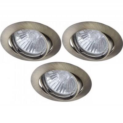 Светильник встраиваемый Arte lamp A2105PL-3AB BasicКруглые<br>Встраиваемые светильники – популярное осветительное оборудование, которое можно использовать в качестве основного источника или в дополнение к люстре. Они позволяют создать нужную атмосферу атмосферу и привнести в интерьер уют и комфорт.   Интернет-магазин «Светодом» предлагает стильный встраиваемый светильник ARTE Lamp A2105PL-3AB. Данная модель достаточно универсальна, поэтому подойдет практически под любой интерьер. Перед покупкой не забудьте ознакомиться с техническими параметрами, чтобы узнать тип цоколя, площадь освещения и другие важные характеристики.   Приобрести встраиваемый светильник ARTE Lamp A2105PL-3AB в нашем онлайн-магазине Вы можете либо с помощью «Корзины», либо по контактным номерам. Мы развозим заказы по Москве, Екатеринбургу и остальным российским городам.<br><br>S освещ. до, м2: 10<br>Тип лампы: галогенная<br>Тип цоколя: GU10<br>Количество ламп: 3<br>Ширина, мм: 80<br>MAX мощность ламп, Вт: 50<br>Диаметр, мм мм: 80<br>Диаметр врезного отверстия, мм: 75<br>Высота, мм: 110<br>Цвет арматуры: бронзовый