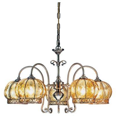 Люстра Arte lamp A2106LM-5AB VeniceПодвесные<br>Компания «Светодом» предлагает широкий ассортимент люстр от известных производителей. Представленные в нашем каталоге товары выполнены из современных материалов и обладают отличным качеством. Благодаря широкому ассортименту Вы сможете найти у нас люстру под любой интерьер. Мы предлагаем как классические варианты, так и современные модели, отличающиеся лаконичностью и простотой форм. <br>Стильная люстра Arte lamp A2106LM-5AB станет украшением любого дома. Эта модель от известного производителя не оставит равнодушным ценителей красивых и оригинальных предметов интерьера. Люстра Arte lamp A2106LM-5AB обеспечит равномерное распределение света по всей комнате. При выборе обратите внимание на характеристики, позволяющие приобрести наиболее подходящую модель. <br>Купить понравившуюся люстру по доступной цене Вы можете в интернет-магазине «Светодом».<br><br>Установка на натяжной потолок: Да<br>S освещ. до, м2: 20<br>Крепление: Крюк<br>Тип лампы: накаливания / энергосбережения / LED-светодиодная<br>Тип цоколя: E14<br>Количество ламп: 5<br>Ширина, мм: 620<br>MAX мощность ламп, Вт: 60<br>Диаметр, мм мм: 620<br>Длина цепи/провода, мм: 400<br>Высота, мм: 380<br>Цвет арматуры: бронзовый
