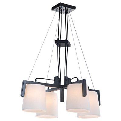 Светильник Arte lamp A2117LM-4BR FerroПодвесные<br>Компания «Светодом» предлагает широкий ассортимент люстр от известных производителей. Представленные в нашем каталоге товары выполнены из современных материалов и обладают отличным качеством. Благодаря широкому ассортименту Вы сможете найти у нас люстру под любой интерьер. Мы предлагаем как классические варианты, так и современные модели, отличающиеся лаконичностью и простотой форм.  Стильная люстра Arte lamp A2117LM-4BR станет украшением любого дома. Эта модель от известного производителя не оставит равнодушным ценителей красивых и оригинальных предметов интерьера. Люстра Arte lamp A2117LM-4BR обеспечит равномерное распределение света по всей комнате. При выборе обратите внимание на характеристики, позволяющие приобрести наиболее подходящую модель. Купить понравившуюся люстру по доступной цене Вы можете в интернет-магазине «Светодом». Мы предлагаем доставку не только по Москве и Екатеринбурге, но и по всей России.<br><br>Установка на натяжной потолок: Да<br>S освещ. до, м2: 12<br>Крепление: Планка<br>Тип лампы: накал-я - энергосбер-я<br>Тип цоколя: E27<br>Количество ламп: 4<br>MAX мощность ламп, Вт: 60<br>Диаметр, мм мм: 740<br>Высота, мм: 300<br>Цвет арматуры: черный
