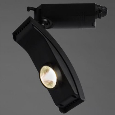 A2120PL-1BK Arte lamp СветильникСветильники для трека<br><br><br>Цветовая t, К: 4000K<br>Тип цоколя: LED<br>Цвет арматуры: ЧЕРНЫЙ<br>Количество ламп: 1<br>Диаметр, мм мм: 50<br>Размеры: 215*77*47<br>Длина, мм: 170<br>Высота, мм: 200<br>MAX мощность ламп, Вт: 20W<br>Общая мощность, Вт: 20W