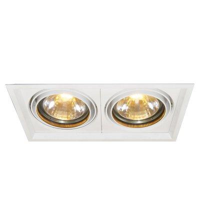 Встраиваемый светильник Arte lamp A2134PL-2WH MissileКвадратные LED<br><br><br>S освещ. до, м2: 4<br>Тип товара: Светильник встраиваемый<br>Тип лампы: LED (светодиоды)<br>Тип цоколя: LED<br>Количество ламп: 2<br>Ширина, мм: 190<br>MAX мощность ламп, Вт: 30<br>Длина, мм: 350<br>Высота, мм: 150<br>Цвет арматуры: белый