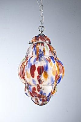 Светильник Arte lamp A2206SP-1CC VeneziaПодвесные<br><br><br>Установка на натяжной потолок: Да<br>S освещ. до, м2: 7<br>Крепление: Крюк<br>Тип товара: Люстра подвесная<br>Тип лампы: накаливания / энергосбережения / LED-светодиодная<br>Тип цоколя: E27<br>Количество ламп: 1<br>Ширина, мм: 280<br>MAX мощность ламп, Вт: 100<br>Диаметр, мм мм: 280<br>Длина цепи/провода, мм: 1180<br>Высота, мм: 480