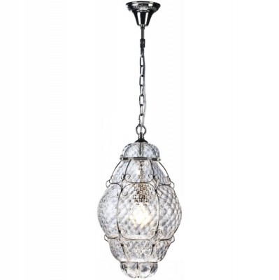 Светильник Arte lamp A2207SP-1SS VeniceАрхив<br><br><br>S освещ. до, м2: 7<br>Тип лампы: накаливания / энергосбережения / LED-светодиодная<br>Тип цоколя: E27<br>Цвет арматуры: никель<br>Количество ламп: 1<br>Ширина, мм: 280<br>Диаметр, мм мм: 280<br>Длина цепи/провода, мм: 400<br>Высота, мм: 480<br>MAX мощность ламп, Вт: 100