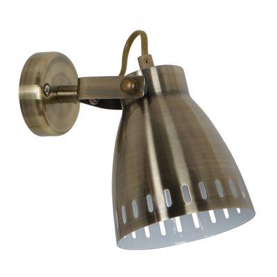 Светильник настенный бра Arte lamp A2214AP-1AB LUNEDОдиночные<br>Светильники-споты – это оригинальные изделия с современным дизайном. Они позволяют не ограничивать свою фантазию при выборе освещения для интерьера. Такие модели обеспечивают достаточно качественный свет. Благодаря компактным размерам Вы можете использовать несколько спотов для одного помещения.  Интернет-магазин «Светодом» предлагает необычный светильник-спот ARTE Lamp A2214AP-1AB по привлекательной цене. Эта модель станет отличным дополнением к люстре, выполненной в том же стиле. Перед оформлением заказа изучите характеристики изделия.  Купить светильник-спот ARTE Lamp A2214AP-1AB в нашем онлайн-магазине Вы можете либо с помощью формы на сайте, либо по указанным выше телефонам. Обратите внимание, что у нас склады не только в Москве и Екатеринбурге, но и других городах России.<br><br>S освещ. до, м2: 3<br>Тип цоколя: E27<br>Цвет арматуры: бронзовый<br>Количество ламп: 1<br>Размеры: H17xW12xL23<br>MAX мощность ламп, Вт: 60