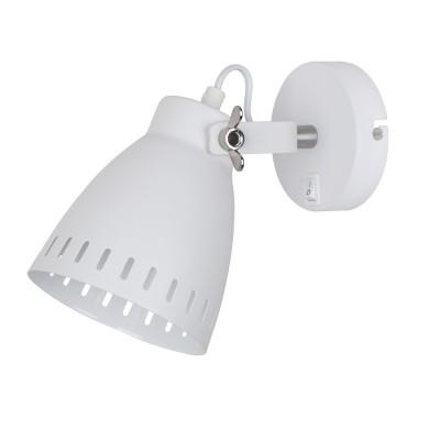 A2214AP-1WH Arte lamp СветильникОдиночные<br><br><br>Тип цоколя: E27<br>Количество ламп: 1<br>MAX мощность ламп, Вт: 40W<br>Диаметр, мм мм: 120<br>Размеры: 225*120*170<br>Длина, мм: 240<br>Высота, мм: 170<br>Цвет арматуры: БЕЛЫЙ<br>Общая мощность, Вт: 40W