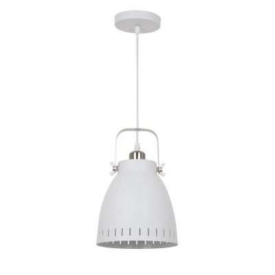 A2214SP-1WH Arte lamp СветильникОдиночные<br><br><br>Крепление: Планка<br>Тип лампы: Накаливания / энергосбережения / светодиодная<br>Тип цоколя: E27<br>Цвет арматуры: БЕЛЫЙ<br>Количество ламп: 1<br>Диаметр, мм мм: 210<br>Длина цепи/провода, мм: 1110<br>Размеры: ?210*H1829<br>Длина, мм: 210<br>Высота, мм: 230<br>MAX мощность ламп, Вт: 40W<br>Общая мощность, Вт: 40W