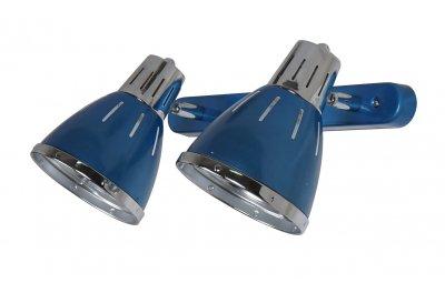 Светильник настенный бра Arte lamp A2215AP-2BL MARTEDДвойные<br>Светильники-споты – это оригинальные изделия с современным дизайном. Они позволяют не ограничивать свою фантазию при выборе освещения для интерьера. Такие модели обеспечивают достаточно качественный свет. Благодаря компактным размерам Вы можете использовать несколько спотов для одного помещения.  Интернет-магазин «Светодом» предлагает необычный светильник-спот ARTE Lamp A2215AP-2BL по привлекательной цене. Эта модель станет отличным дополнением к люстре, выполненной в том же стиле. Перед оформлением заказа изучите характеристики изделия.  Купить светильник-спот ARTE Lamp A2215AP-2BL в нашем онлайн-магазине Вы можете либо с помощью формы на сайте, либо по указанным выше телефонам. Обратите внимание, что у нас склады не только в Москве и Екатеринбурге, но и других городах России.<br><br>S освещ. до, м2: 6<br>Тип цоколя: E27<br>Цвет арматуры: синий<br>Количество ламп: 2<br>Размеры: H16xW17xL42<br>MAX мощность ламп, Вт: 60