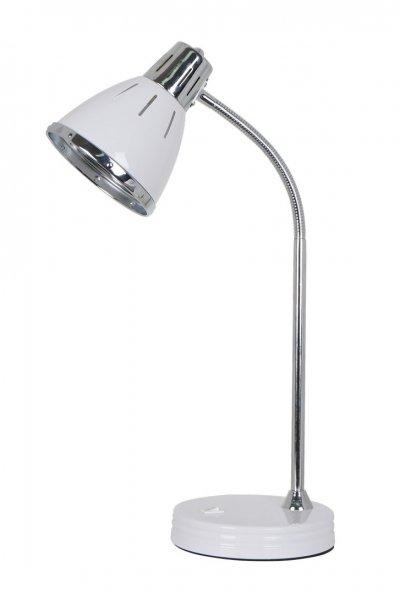 Светильник настольный Arte lamp A2215LT-1WH MARTEDОфисные<br>Настольная лампа – это не просто источник дополнительного освещения, но и оригинальный элемент декора. Его можно установить в спальне, гостиной, кабинете и других комнатах. Интернет-магазин «Светодом» предлагает настольные лампы разных стилей по доступным ценам. Благодаря большому ассортименту Вы обязательно найдете в нашем каталоге именно ту модель, которую искали.   Настольная лампа Arte lamp A2215LT-1WH – прекрасный вариант для завершения интерьера. Ее можно включить одновременно с люстрой для более яркого освещения или без нее для создания уютной атмосферы, настраивающей на отдых.   Купить настольную лампу Arte lamp A2215LT-1WH Вы можете с помощью виртуальной «Корзины» или по контактным номерам, указанным на сайте.<br><br>Тип лампы: Накаливания / энергосбережения / светодиодная<br>Тип цоколя: E27<br>Количество ламп: 1<br>MAX мощность ламп, Вт: 60<br>Размеры: H50xW17xL30<br>Цвет арматуры: белый