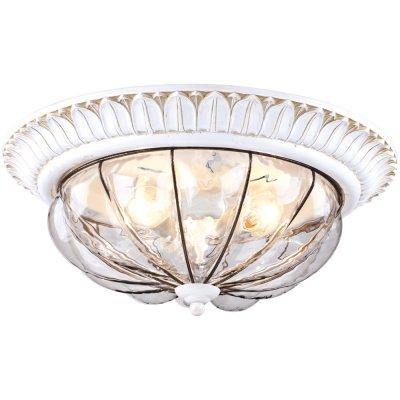 Потолочный светильникк Arte lamp A2241PL-3WG San MarcoПотолочные<br>Компания «Светодом» предлагает широкий ассортимент люстр от известных производителей. Представленные в нашем каталоге товары выполнены из современных материалов и обладают отличным качеством. Благодаря широкому ассортименту Вы сможете найти у нас люстру под любой интерьер. Мы предлагаем как классические варианты, так и современные модели, отличающиеся лаконичностью и простотой форм.  Стильная люстра Arte lamp A2241PL-3WG станет украшением любого дома. Эта модель от известного производителя не оставит равнодушным ценителей красивых и оригинальных предметов интерьера. Люстра Arte lamp A2241PL-3WG обеспечит равномерное распределение света по всей комнате. При выборе обратите внимание на характеристики, позволяющие приобрести наиболее подходящую модель. Купить понравившуюся люстру по доступной цене Вы можете в интернет-магазине «Светодом».<br><br>Установка на натяжной потолок: Ограничено<br>S освещ. до, м2: 9<br>Крепление: Планка<br>Тип лампы: накаливания / энергосбережения / LED-светодиодная<br>Тип цоколя: E14<br>Количество ламп: 3<br>MAX мощность ламп, Вт: 60<br>Диаметр, мм мм: 400<br>Высота, мм: 170<br>Оттенок (цвет): Прозрачный<br>Цвет арматуры: белый