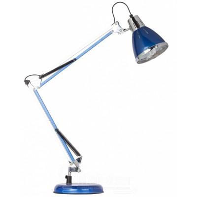 Светильник настольный Arte lamp A2245LT-1BL CREAZIONEОфисные<br>Настольная лампа – это не просто источник дополнительного освещения, но и оригинальный элемент декора. Его можно установить в спальне, гостиной, кабинете и других комнатах. Интернет-магазин «Светодом» предлагает настольные лампы разных стилей по доступным ценам. Благодаря большому ассортименту Вы обязательно найдете в нашем каталоге именно ту модель, которую искали.   Настольная лампа Arte lamp A2245LT-1BL – прекрасный вариант для завершения интерьера. Ее можно включить одновременно с люстрой для более яркого освещения или без нее для создания уютной атмосферы, настраивающей на отдых.   Купить настольную лампу Arte lamp A2245LT-1BL Вы можете с помощью виртуальной «Корзины» или по контактным номерам, указанным на сайте.<br><br>Тип цоколя: E27<br>Цвет арматуры: синий<br>Количество ламп: 1<br>Размеры: H62xW19xL54<br>MAX мощность ламп, Вт: 60