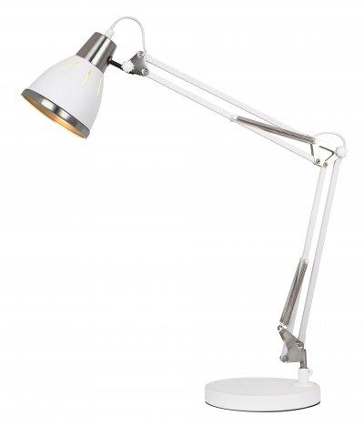 Светильник Arte Lamp A2246LT-1WHсовременные настольные лампы модерн<br>Светильник Arte Lamp A2246LT-1WH обеспечит равномерное распределение света на столе. При выборе обратите внимание на характеристики, позволяющие приобрести наиболее подходящую модель люстры или торшера из аналогичной коллекции и в той же цветовой гамме, что сделает помещение по-дизайнерски профессиональным и законченным.